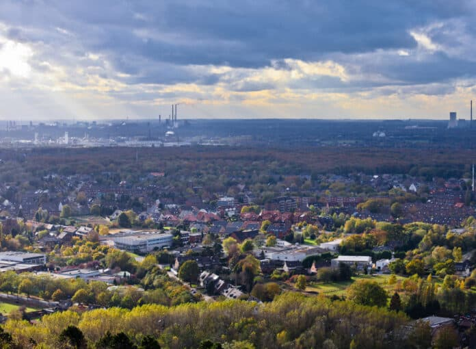 Oberhausen-Germany-Ruhr-Industrial-Area